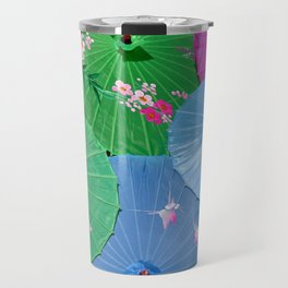 Color full Umbrellas Travel Mug