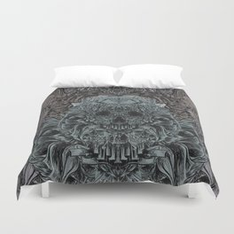 Skull Peaces Duvet Cover