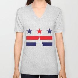 Washington Caps Unisex V-Neck