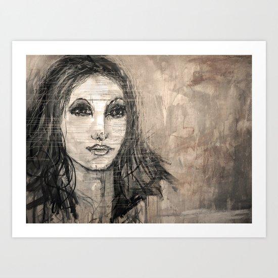 she loves you Art Print