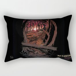 Children In the Wood Rectangular Pillow