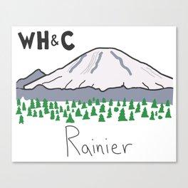 [WHC] Mount Rainier Canvas Print