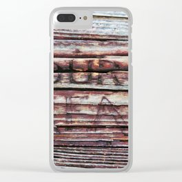 Our Dream In The Grain Clear iPhone Case
