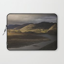 Clouds, Land, Water Laptop Sleeve