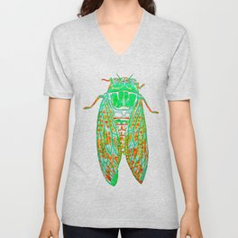Cicada (Inverted) Unisex V-Neck