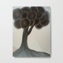 Krishnachura tree Metal Print