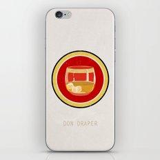 Don Draper iPhone & iPod Skin