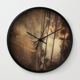 Caged Bird Wall Clock