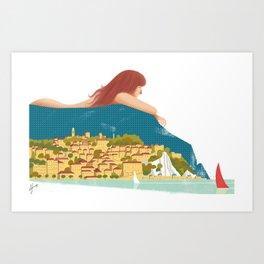 Illustre Conero - Numana e Sirolo Art Print