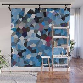 Sapphire Periwinkle Blue Moon Love Wall Mural