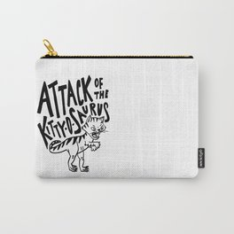 The Attack of Kitty-o-Saurus! Carry-All Pouch
