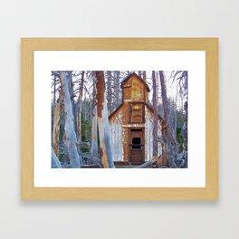 Abandoned Cabin Framed Art Print