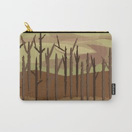 Burning forest future Carry-All Pouch