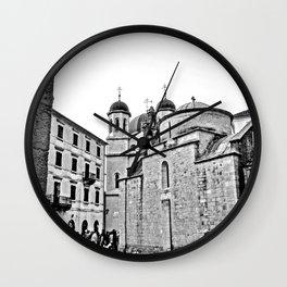 Kotor Square Wall Clock
