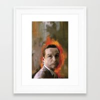moriarty Framed Art Prints featuring Moriarty by Wisesnail
