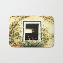 Window and ivy Bath Mat