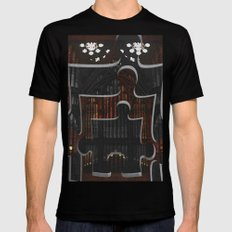 Distracting a Ghost: 1st Rendition  MEDIUM Mens Fitted Tee Black