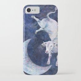 The Cow Jumped Over The Moon - II iPhone Case