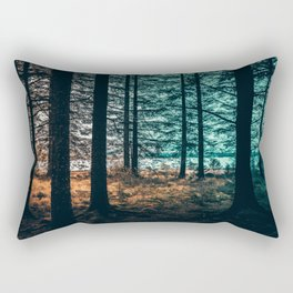 The whirlwind is in the thorn tree. Rectangular Pillow