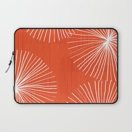 Dandelions in Red by Friztin Laptop Sleeve