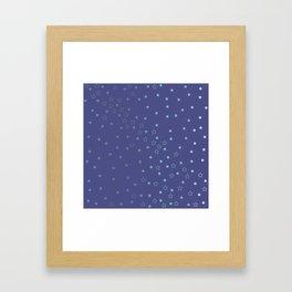 Star Fall Framed Art Print