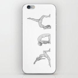 Heart Opener Yoga Series - Yoga Girls iPhone Skin
