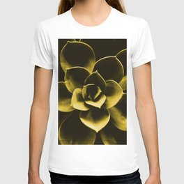Succulent Plant In Olive Color #decor #society6 #homedecor T-shirt
