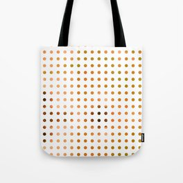 Polka Dot-Yellow Tote Bag