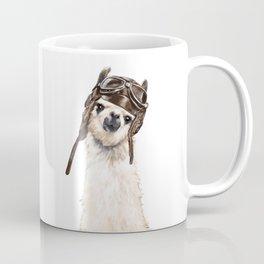 Pilot Llama Coffee Mug