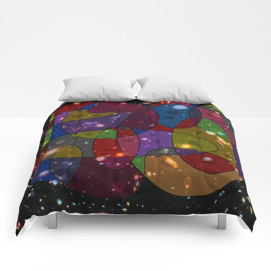Abstract #305 Galaxies Comforters