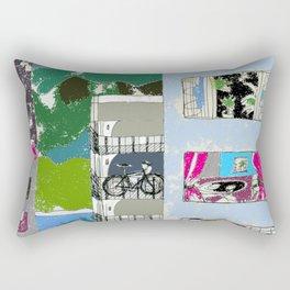 Downtown Living Rectangular Pillow
