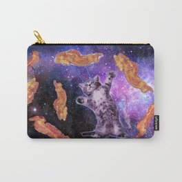 Cat Frying Bacon With Eye Laser                                                   Carry-All Pouch