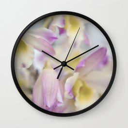 Orchid Dream Wall Clock