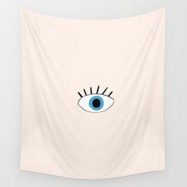 Blue eye Wall Tapestry