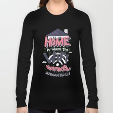 Home Wifi Long Sleeve T-shirt