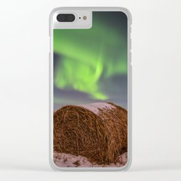 Hay! I thought I straw something in the sky. Clear iPhone Case