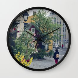Who said Oslo is grey? Wall Clock