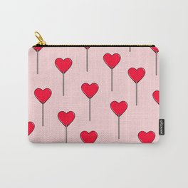 Heart Lollipops Carry-All Pouch