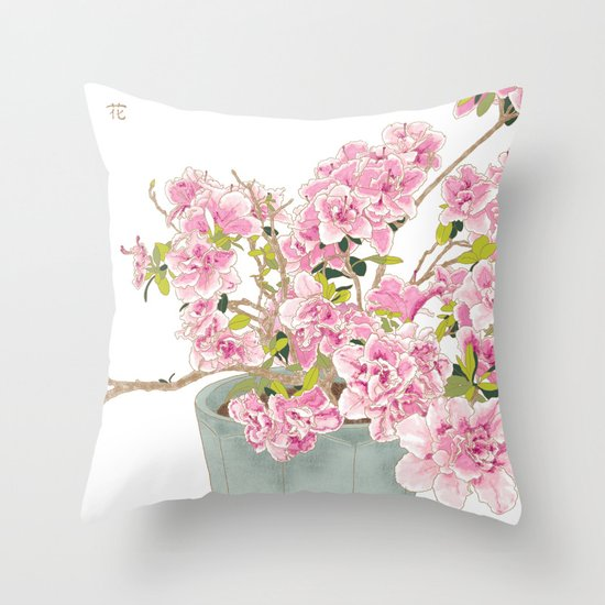 Heavenly Blossom #2 Throw Pillow