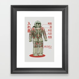 Bad Assimo Framed Art Print