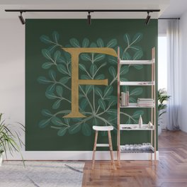 Forest Letter F 2018 Wall Mural