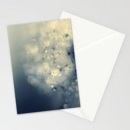dandelion silver II Stationery Cards