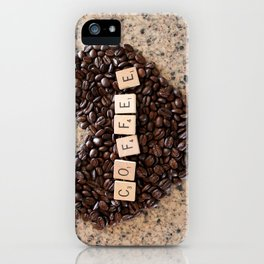 Love Coffee iPhone Case