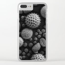 Miscellaneous Pollen Clear iPhone Case