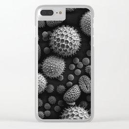 Miscellaneous Pollen Clear iPhone Case