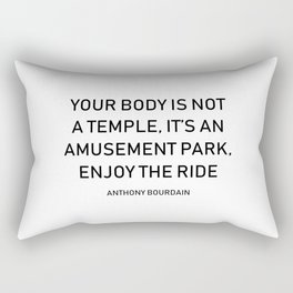 Anthony Bourdain Rectangular Pillow