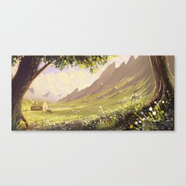 My secret place Canvas Print