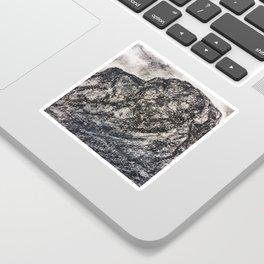 Grey Moutain by Gerlinde Streit Sticker