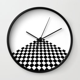 Perspective floor Wall Clock