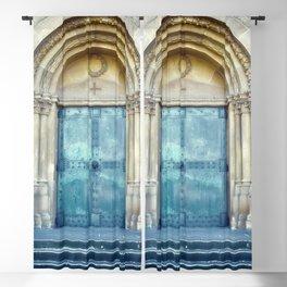 Church door Blackout Curtain